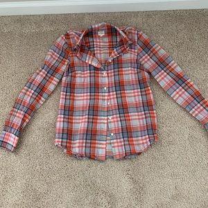 JCrew Lightweight Button Up Shirt